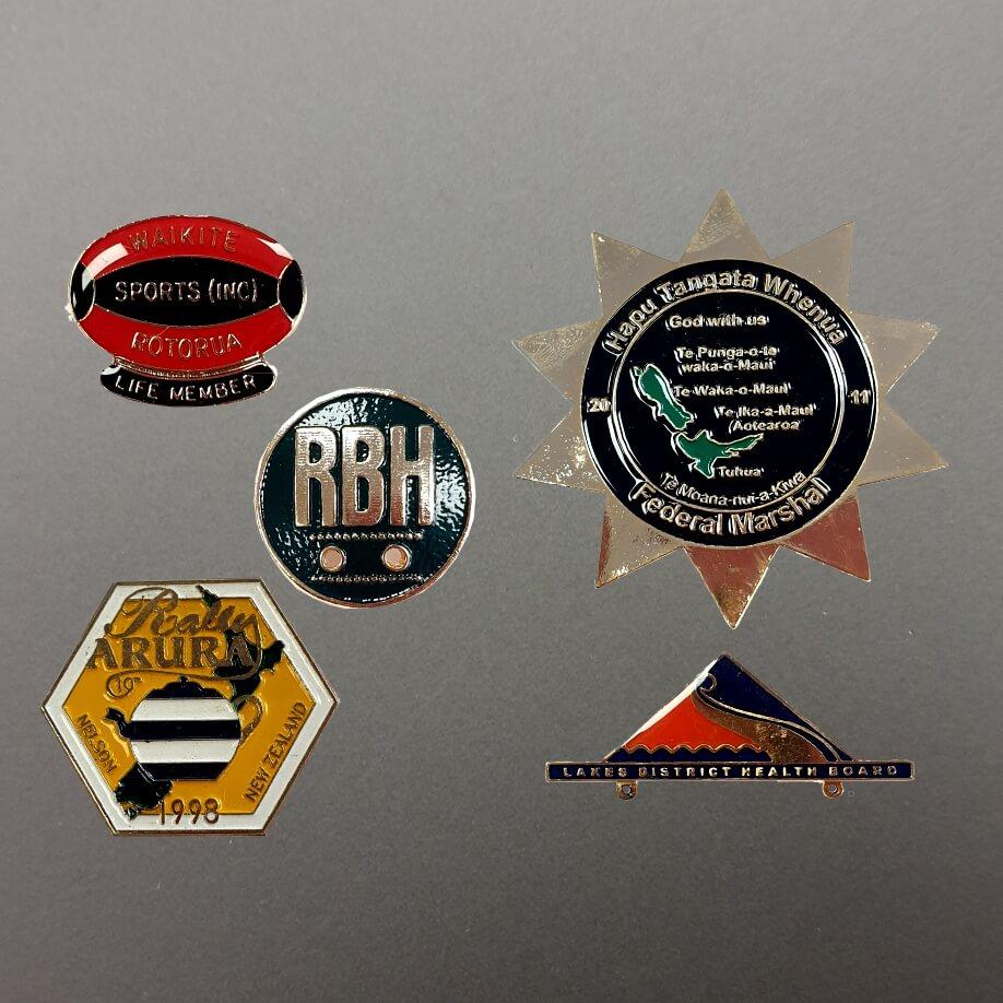 Die Cast Badges